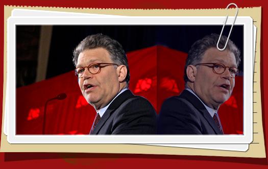 Al Franken double standard